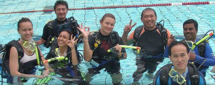 Scuba diving course Malaysia